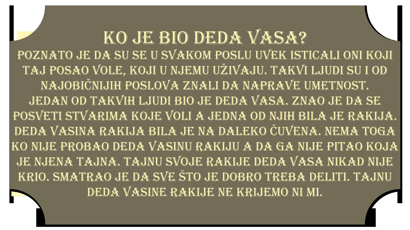 Ko je bio deda Vasa