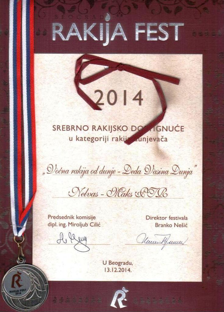 Srebrna medalja - Dunja